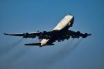 matatabiさんが、成田国際空港で撮影したデルタ航空 747-451の航空フォト(写真)