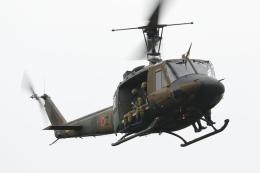 黄色の168さんが、十勝飛行場で撮影した陸上自衛隊 UH-1Jの航空フォト(飛行機 写真・画像)