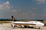 菊池 正人さんが、チューリッヒ空港で撮影したシンガポール航空 747-412の航空フォト(写真)
