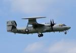 じーく。さんが、厚木飛行場で撮影したアメリカ海軍 E-2D Advanced Hawkeyeの航空フォト(写真)