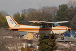 Chofu Spotter Ariaさんが、調布飛行場で撮影した北海道フライトサービス 172P Skyhawkの航空フォト(飛行機 写真・画像)