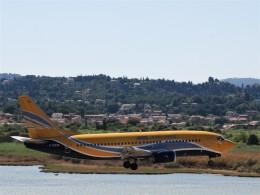 空飛ぶぽん吉☆さんが、コルフ・イオアニス・カポディストリアス空港で撮影したASLエアラインズ・フランス 737-33V(QC)の航空フォト(飛行機 写真・画像)