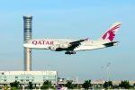 まいけるさんが、スワンナプーム国際空港で撮影したカタール航空 A380-861の航空フォト(写真)