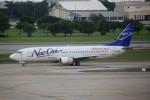 トールさんが、ドンムアン空港で撮影したニューゲン・エアウェイズ 737-4H6の航空フォト(写真)