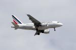 TRAVAIRさんが、パリ シャルル・ド・ゴール国際空港で撮影したエールフランス航空 A318-111の航空フォト(写真)