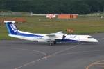 雪虫さんが、新千歳空港で撮影したANAウイングス DHC-8-402Q Dash 8の航空フォト(写真)