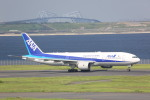 meijeanさんが、羽田空港で撮影した全日空 777-281/ERの航空フォト(写真)