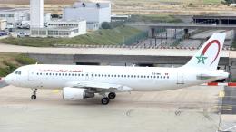 誘喜さんが、パリ オルリー空港で撮影したロイヤル・エア・モロッコ A320-214の航空フォト(飛行機 写真・画像)