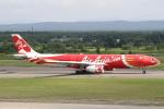セブンさんが、新千歳空港で撮影したエアアジア・エックス A330-343Eの航空フォト(飛行機 写真・画像)