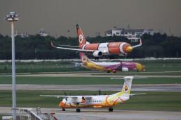トールさんが、ドンムアン空港で撮影したノックエア 737-83Nの航空フォト(飛行機 写真・画像)
