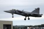 AkiChup0nさんが、フェアフォード空軍基地で撮影したスウェーデン空軍 JAS39Cの航空フォト(写真)