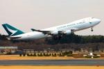 Tomo_lgmさんが、成田国際空港で撮影したキャセイパシフィック航空 747-467F/ER/SCDの航空フォト(写真)