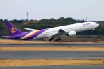 Tomo_lgmさんが、成田国際空港で撮影したタイ国際航空 777-3D7の航空フォト(写真)