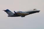 Tomo_lgmさんが、成田国際空港で撮影したウェルズ・ファーゴ・バンク・ノースウェスト CL-600-2B16 Challenger 604の航空フォト(写真)