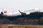 Tomo_lgmさんが、成田国際空港で撮影した日本航空 737-846の航空フォト(写真)