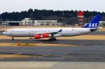 Tomo_lgmさんが、成田国際空港で撮影したスカンジナビア航空 A340-313Xの航空フォト(写真)