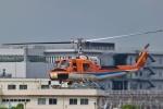 Mizuki24さんが、東京ヘリポートで撮影した新日本ヘリコプター 204B-2(FujiBell)の航空フォト(写真)