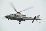 かみきりむしさんが、名古屋飛行場で撮影した朝日新聞社 A109SPの航空フォト(写真)