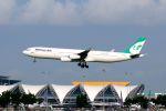 まいけるさんが、スワンナプーム国際空港で撮影したマーハーン航空 A340-311の航空フォト(写真)