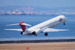 yabyanさんが、中部国際空港で撮影した日本エアシステム MD-90-30の航空フォト(飛行機 写真・画像)