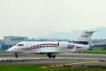 アップルゆこさんが、台北松山空港で撮影したジェットフリート CL-600-2B16 Challenger 604の航空フォト(写真)