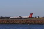 しかばねさんが、シドニー国際空港で撮影したカンタスリンク DHC-8-402Q Dash 8の航空フォト(写真)