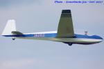 いおりさんが、妻沼滑空場で撮影した学習院大学 ASK 13の航空フォト(写真)