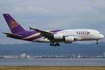 Wings Flapさんが、関西国際空港で撮影したタイ国際航空 A380-841の航空フォト(写真)