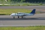 qooさんが、高松空港で撮影したちくぎんリース PA-34-220T Seneca Vの航空フォト(写真)