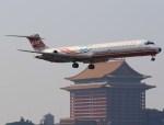 NH642さんが、台北松山空港で撮影した遠東航空 MD-82 (DC-9-82)の航空フォト(写真)
