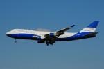 ぼんやりしまちゃんさんが、シェレメーチエヴォ国際空港で撮影したスカイ・ゲーツ・エアラインズ 747-467F/SCDの航空フォト(写真)