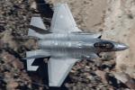 Ryan-airさんが、Panamint Springs - Rainbow Canyon で撮影したオランダ王立空軍 F-35A-1B Lightning IIの航空フォト(写真)