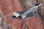 Ryan-airさんが、Panamint Springs - Rainbow Canyon で撮影したオランダ王立空軍 F-35A Lightning IIの航空フォト(写真)