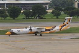 NH642さんが、ドンムアン空港で撮影したノックエア DHC-8-402Q Dash 8の航空フォト(飛行機 写真・画像)