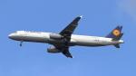 誘喜さんが、フランクフルト国際空港で撮影したルフトハンザドイツ航空 A321-131の航空フォト(写真)