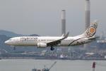 sky-spotterさんが、香港国際空港で撮影したミャンマー・ナショナル・エアウェイズ 737-86Nの航空フォト(写真)