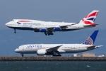 HISATAKUさんが、サンフランシスコ国際空港で撮影したブリティッシュ・エアウェイズ 747-436の航空フォト(写真)