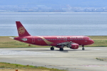 kix-boobyさんが、関西国際空港で撮影した吉祥航空 A320-214の航空フォト(写真)