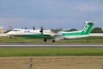 JA56SSさんが、伊丹空港で撮影したANAウイングス DHC-8-402Q Dash 8の航空フォト(写真)