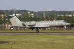 マリオ先輩さんが、横田基地で撮影したアメリカ海兵隊 C-20G Gulfstream IV (G-IV)の航空フォト(写真)
