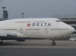 まさ773さんが、成田国際空港で撮影したデルタ航空 747-451の航空フォト(写真)