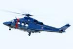 いっち〜@RJFMさんが、鹿児島空港で撮影した鹿児島県警察 AW139の航空フォト(写真)