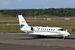 にしやんさんが、新千歳空港で撮影したノエビア 680 Citation Sovereignの航空フォト(写真)