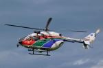 Mizuki24さんが、つくばヘリポートで撮影した茨城県防災航空隊 BK117C-2の航空フォト(写真)