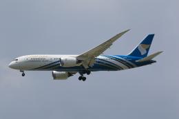 NH642さんが、スワンナプーム国際空港で撮影したオマーン航空 787-8 Dreamlinerの航空フォト(飛行機 写真・画像)