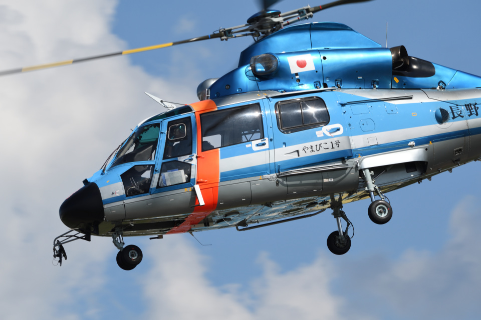 iikagenさんの長野県警察 Eurocopter AS365/565 Dauphin 2/Panther (JA110E) 航空フォト