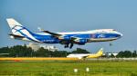 パンダさんが、成田国際空港で撮影したエアブリッジ・カーゴ・エアラインズ 747-4EVF/ER/SCDの航空フォト(飛行機 写真・画像)