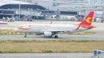 てつさんが、関西国際空港で撮影した天津航空 A320-214の航空フォト(写真)