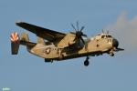 妄想竹さんが、厚木飛行場で撮影したアメリカ海軍 C-2A Greyhoundの航空フォト(写真)