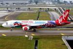 KAW-YGさんが、クアラルンプール国際空港で撮影したエアアジア A320-216の航空フォト(写真)